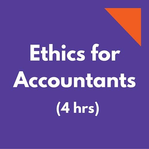Ethics CPE for Accountants