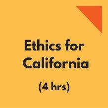 Ethics CPE California