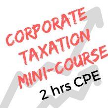 CorporateTaxation