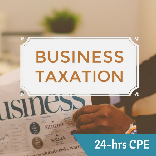 Business tax CPE course