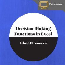 ExcelDecisionMakingFunctions