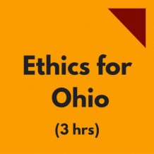 Ethics for Ohio 3-hr CPE course