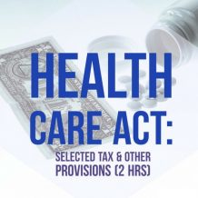 Obamacare Tax CPE Course