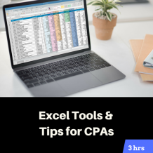 Excel Tools and Tips for CPAs