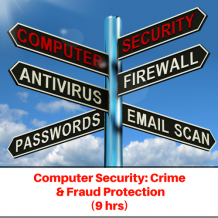 Computer Security: Crime and Fraud Detection