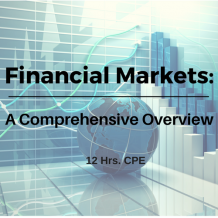 Financial Markets: A Comprehensive Overview CPE course
