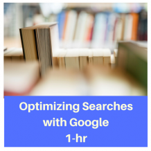 Optimizing Searches with Google 1-hr CPE course