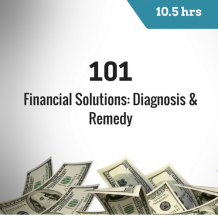 101 Financial Solutions 10 hour online CPE course for CPAs