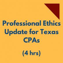 Texas Ethics CPE