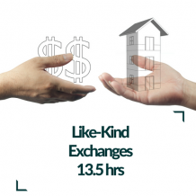 Like Kind Exchanges CPE Course