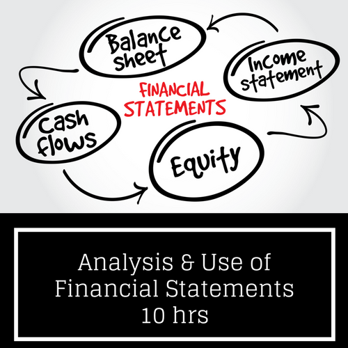 Financial Statement Analysis CPE course