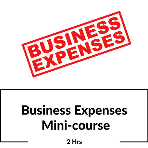 Business Expenses CPE Course for CPAs