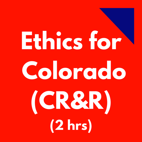 Coloraod CPAs CR&R Ethics course
