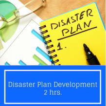 Disaster Plan Development