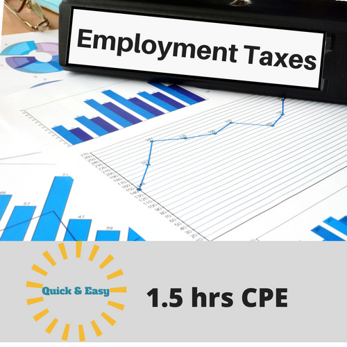 Employment Taxes CPE Course