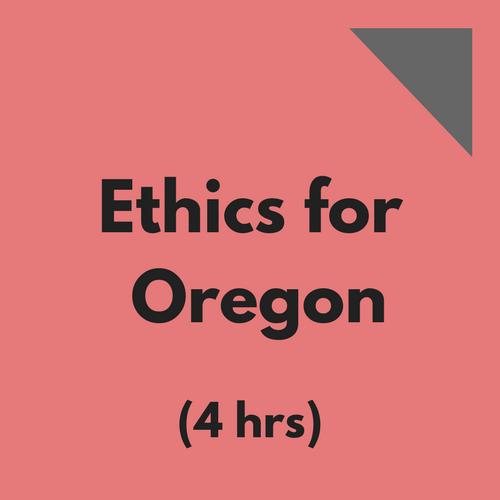 Ethics for Oregon CPAs