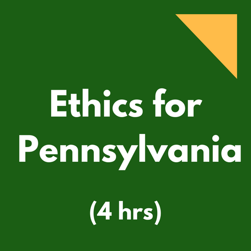 pennsylvania ethics cpe course