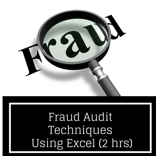 Fraud Audit Techniques Using Excel