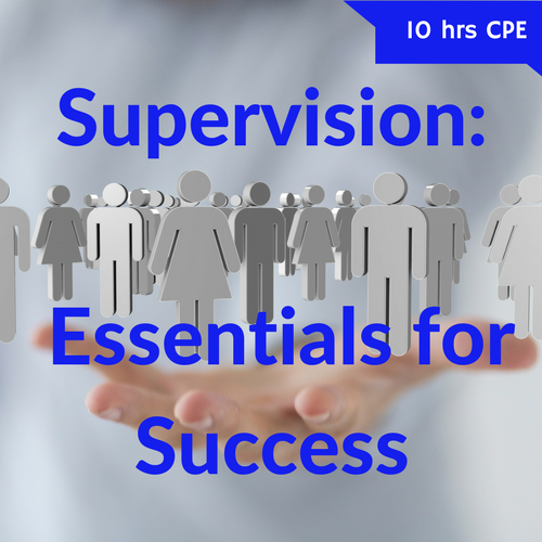 Supervision: Essentials for Success CPE course