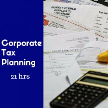 Corporate Tax Planning 21 hr online CPE course