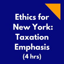 Ethics for New York - Taxation