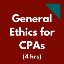 General Ethics for CPAs
