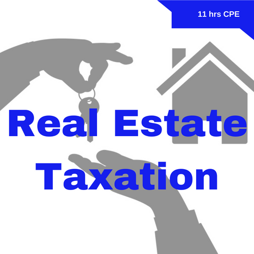 Real Estate Taxation CPE Course for CPAs