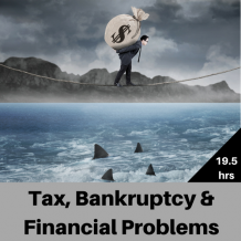 Tax, Bankruptcy & Financial Problems CPE course