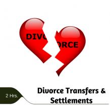 Divorce Transfers & Settlements 2 hr online CPE course