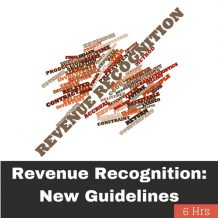 Revenue Recognition: New Guidelines