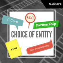 Choice of Entity CPE Course