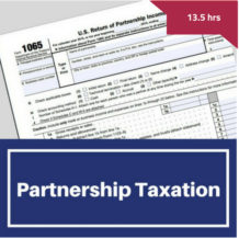 Partnership Taxation CPE Course