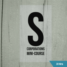 S Corporations CPE course