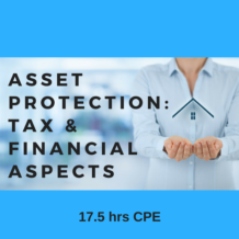 Protecting Assets - Tax & Financial Aspects online CPE course