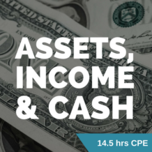 Assets, Income & Cash CPE course