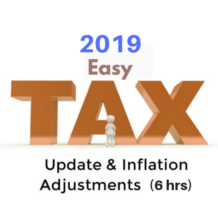 2019 Federal Tax Update CPE course