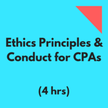 Ethics Principles & Conduct for CPAS