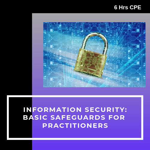 Information Security Basic Safeguards CPE course for CPAs
