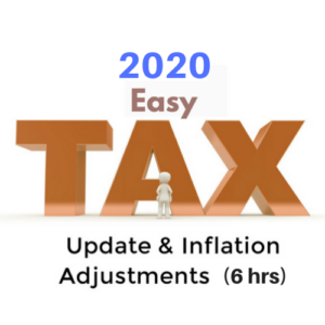 2020 Tax Update CPE Course