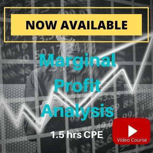 Marginal Profitability Analysis