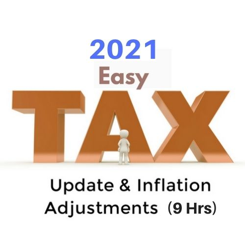 2021 Federal Tax Update and Inflation Adjustments (9 Hrs CPE)