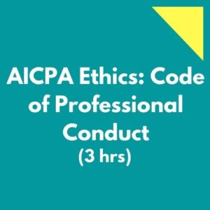 AICPA Ethics Code of Professional Conduct