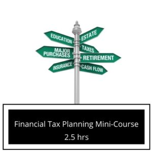 Financial Planning tax course