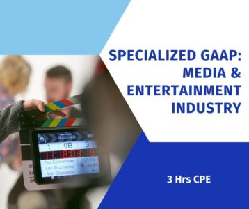 Entertainment Industry Accounting - Specialized GAAP online CPE course