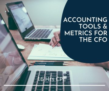 Accounting Tools & Metrics for the CFO online CPE course